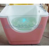 0-1岁婴儿游泳池单面透明水疗按摩池