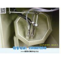 浩荣 供应双枪滚篮式自动喷砂机/适用于大量小工件手动或自动喷砂