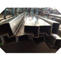 重庆201不锈钢71*43门框管型材,佛山供应201不锈钢门框管包边型材