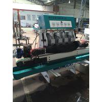 金豚机械 JTY-4卧式直线玻璃圆边磨边机