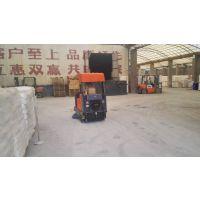 工厂仓库用带顶棚1.4米清扫宽度路驰洁Q4P驾驶式吸尘扫地机