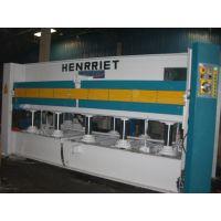 亨力特厂家生产三层200吨液压式热压贴面机 木工贴面机