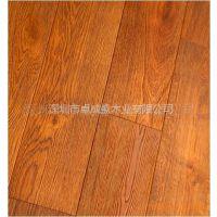 供应厂家直销优质橡木(柞木)汉唐浮雕实木地板