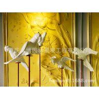 批发树脂工艺品树脂仿真鹦鹉雕塑摆件树脂工艺品连锁店门店装饰品