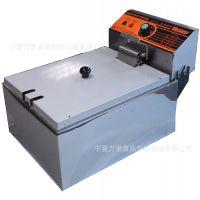 台式电炸炉|单缸电热炸炉|鸡柳电炸炉|电热油炸锅  正品厚料