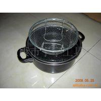 供应日式油炸锅,煎锅,多用油炸锅,不粘锅