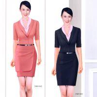 新款夏季职业女装连衣裙修身版女装