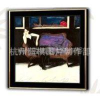 供应高档装饰画 油画 有框画 水晶 工艺品外贸代理
