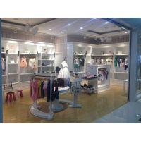 武汉商场专卖店童装柜台设计,海宏展柜免费设计平面布局,量好尺寸订做柜台