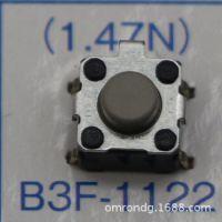 轻触开关B3F-1022欧姆龙按键开关B3F-1022原装进口欧姆龙品牌批发