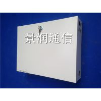 1分16插片式光分路器箱 1*16冷轧板分路器箱