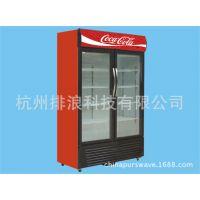 双门488L直流变频太阳能玻璃门冰箱展示柜酒柜陈列柜12V-24V-220V