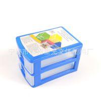 创意家居日用 厂家直销塑料小抽屉收纳箱 办公家居小物件归纳盒