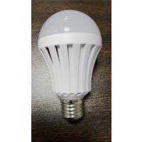 5W智能应急LED球泡灯 自动充电 停电发光球泡灯 厂家直销广州中山古镇奥尔森照明
