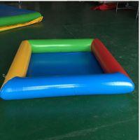 大商场里的气垫水池报价 郑州橡皮游泳池厂家 孩子玩的广场水池生意好