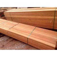 优质菠萝格批发厂家 异形菠萝格柳桉防腐木板材沪景可定生产加工
