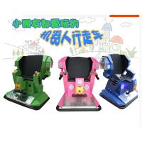 豪华版变形金刚电动车 公园广场游乐行走站立机器人 儿童电瓶行走机器人