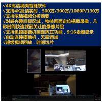 4K智能视频监控NVR软件支持视频摘要鱼眼镜头矫正走廊模式显示