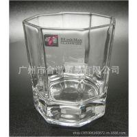 丽尊KTY5010-4八角洛杯玻璃杯酒吧KTV酒杯水杯318ML