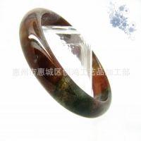 2013精品推荐:天然正品水晶玛瑙半宝石 时尚尊贵水草玛瑙手镯