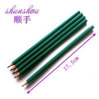 塑料铅笔 顺手牌HB学生写字铅笔 义乌铅笔厂家批发 塑料铅笔定制