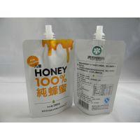 供应10ml-5L吸嘴果汁袋 透明包装袋 液体吸嘴自立袋定做