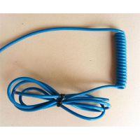广州弹簧线,缘哲通塑胶料(图),PU弹簧线伸缩线