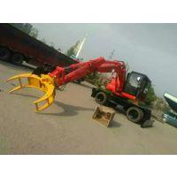 济南山鼎工程机械定做各种型号抓木器 旋转式抓木器价格