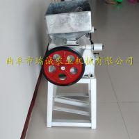 家用小型饲料加工破碎机 花生米破碎设备 高产量低成本