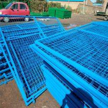 车间护栏网 隔离铁丝网 金属围墙现货
