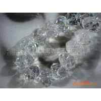 供应厂家直销浦江扁珠、14MM、16MM、18MM扁珠、水晶玻璃珠