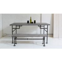美式乡村 铁艺桌椅复古做旧餐桌 餐椅长凳餐厅客厅桌椅 电脑桌椅