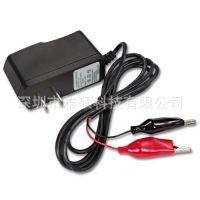儿童摩托玩具电动车6v电瓶蓄电池充电机7.5V多功能充电器带夹子