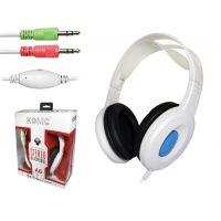 科麦 A6 头戴 护耳式耳机 耳麦 有线耳机 电脑 语音 麦克风
