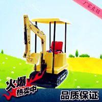供应济宁铎松儿童游乐挖掘机最畅销小型游乐设备