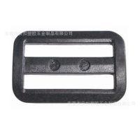 厂家现货供应黑色白三档扣 箱包日字扣 塑料扣具塑胶扣 调节扣