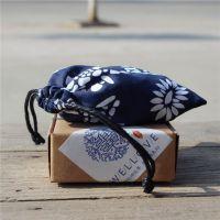 维乐陶瓷饰品首饰盒7.5x7.5x3cm简约牛皮纸盒 礼品包装盒厂家批发