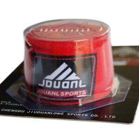 正品 拳击运动护手绷带 缠手绷带 纯棉拳击绷带5米一副 黑色红色