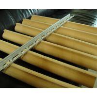 带槽铝圆管 型材铝圆管价格 仿木纹色铝圆管