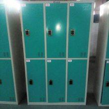 平顶山洗浴酒店桑拿寄存柜厂家 9门刷卡储物柜寄包柜哪种耐用
