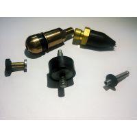 专业生产定制橡胶夹铁件或夹铜件产品
