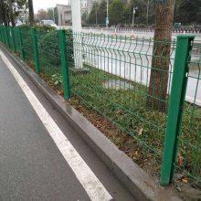 阳西电站双边丝围栏网 工厂围墙防护栏杆 遂溪三折弯围栏 钢材