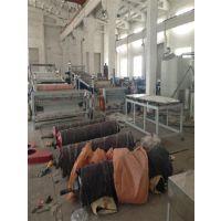 c型排水板生产线、排水板生产线、浩赛特塑机