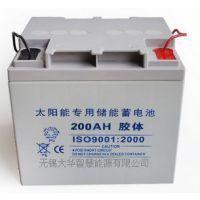 供应无锡大华太阳能蓄电池 路灯储能蓄电池 胶体电源