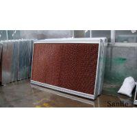 安装水帘冷风机给铜件厂闷热车间通风降温