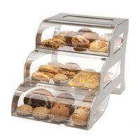 面包店食品店实惠供应优质耐用亚克力面包展示架 亚克力蛋糕架