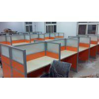 电话销售坐席桌办公屏风隔断一对一培训桌香河家具厂生产定做