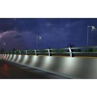 广东深圳不锈钢桥梁护栏图片,桥梁栏杆,不锈钢河道护栏,又可增加斜拉桥的均衡感;梁桥则以水平、坦直为基