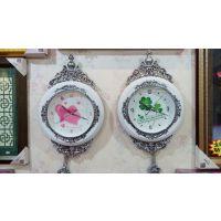 武汉十字绣钟表圆形挂钟装裱及维修换装机芯