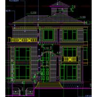 美式风格精美小型家庭旅馆三层小洋楼设计图13.9x18.9米